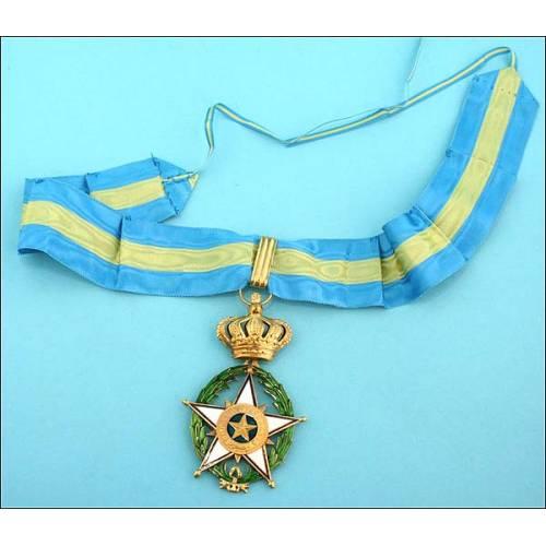 Bélgica. Order de la Estrella de Africa. Cruz de Comendador.