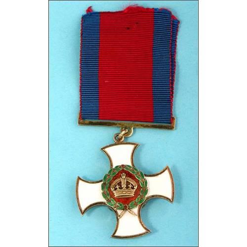 Gran Bretaña. Orden de Servicios Distinguidos. George V. Perfecta!