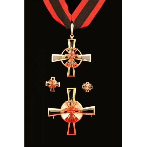 España, Orden del Yugo y las Flechas. Categoría Comendador. Años 60