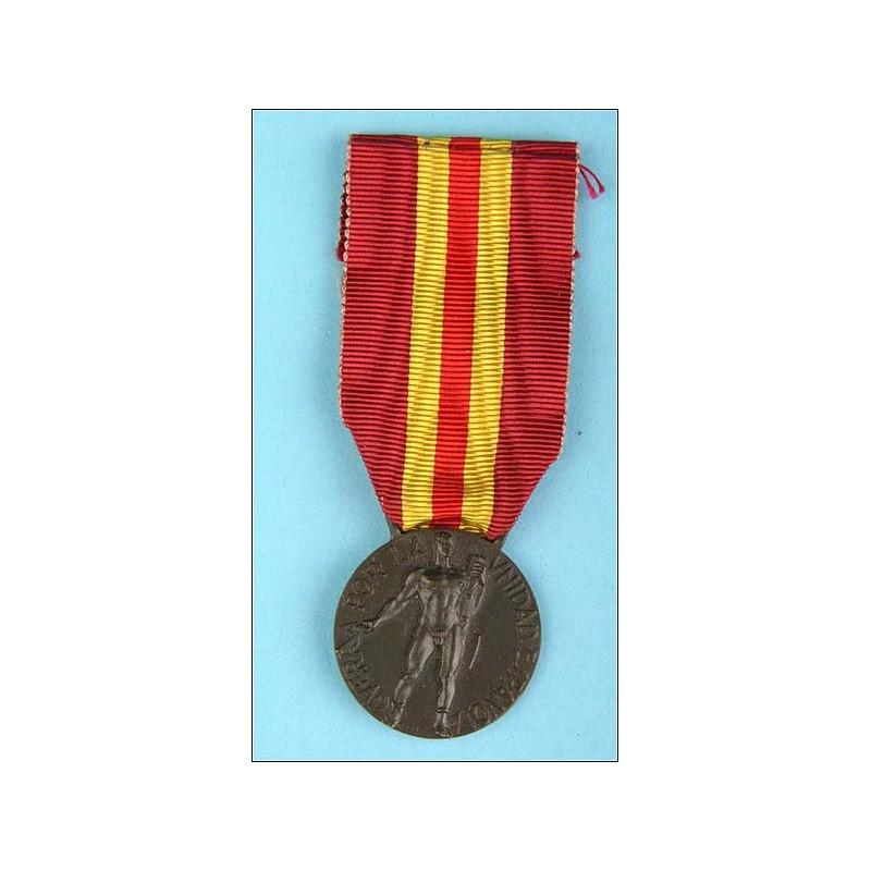 Italia. Medalla Voluntarios de Guerra
