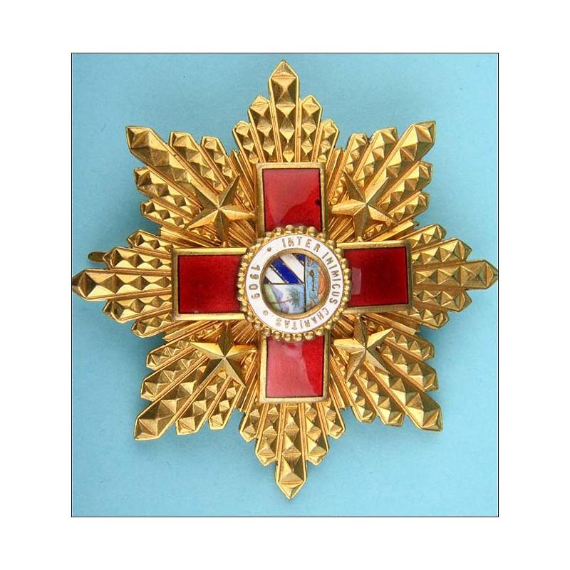 Cuba. Orden la Cruz Roja. 1ª Clase