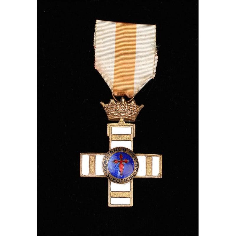 Medalla a la Constancia en el Servicio para Suboficiales. España, Años 60-70 del S. XX.