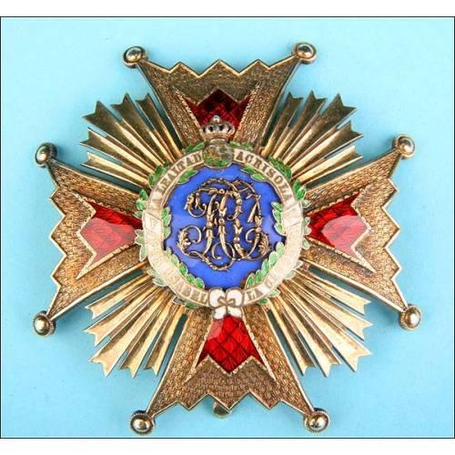 España. Orden de Isabel la católica. 1er modelo