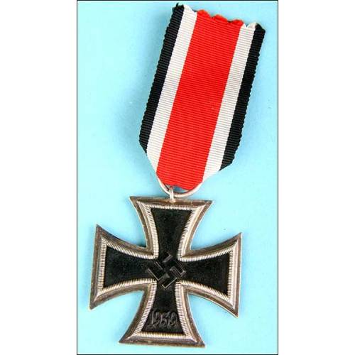 Alemania. Cruz de hierro de 2ª clase. Original.