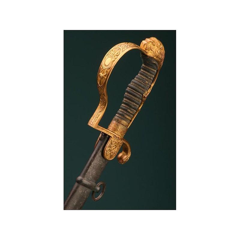 Espada Alemana para oficiales de artillería