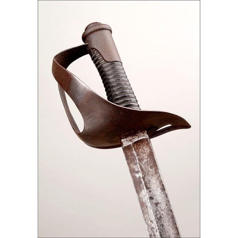 Antigua Espada de Caballería. Italia, Finales del Siglo XIX