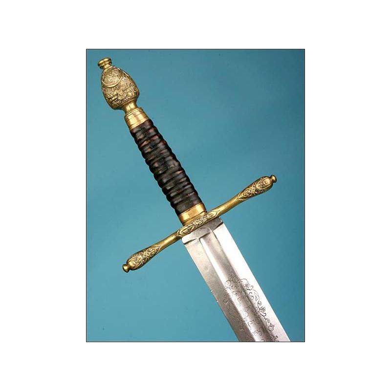Alemania. Espada de verdugo. 1720