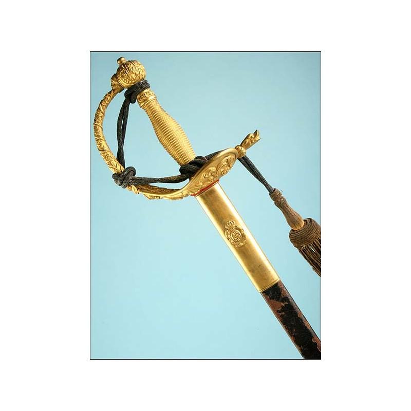 Espada de ceñir modelo 1870 para General