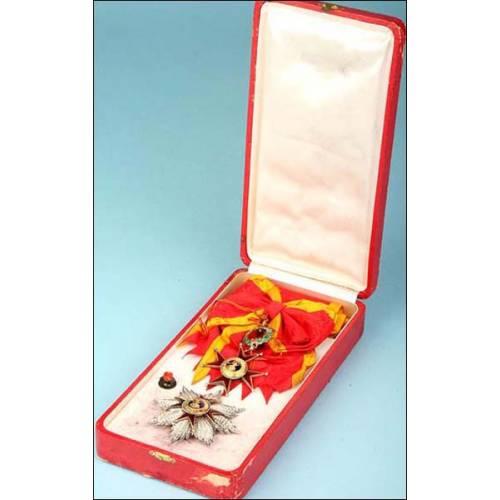 Vaticano. Medalla. Orden de San Gregorio de Primera clase.
