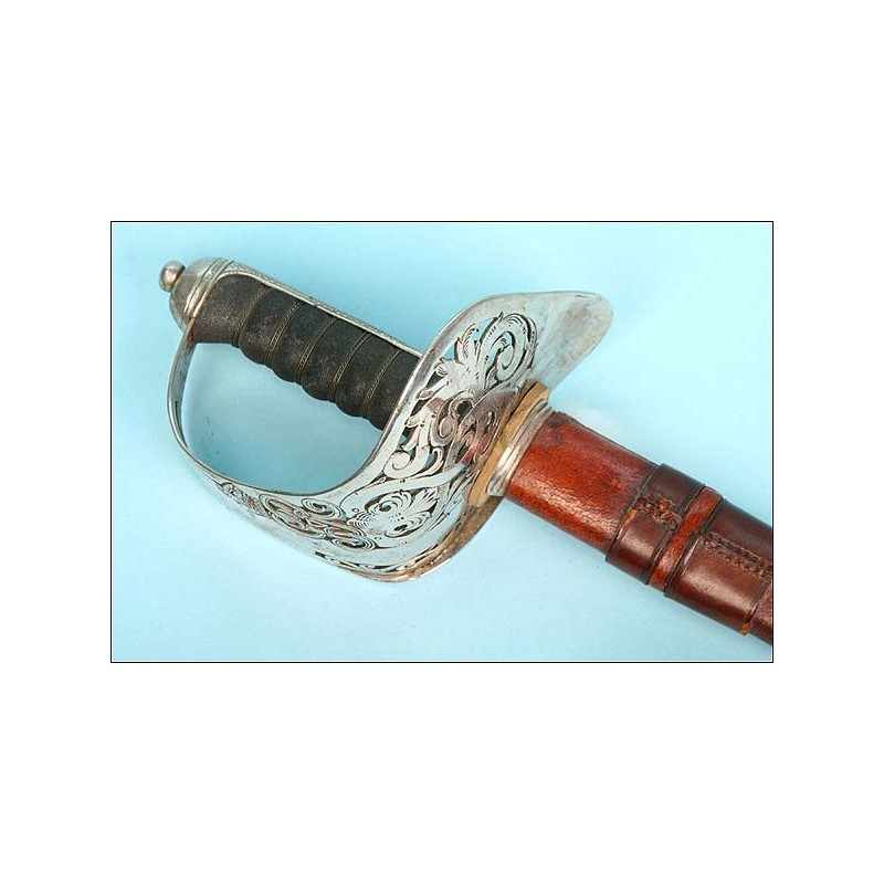 Espada para ofical de Infantería británica. Modelo 1895