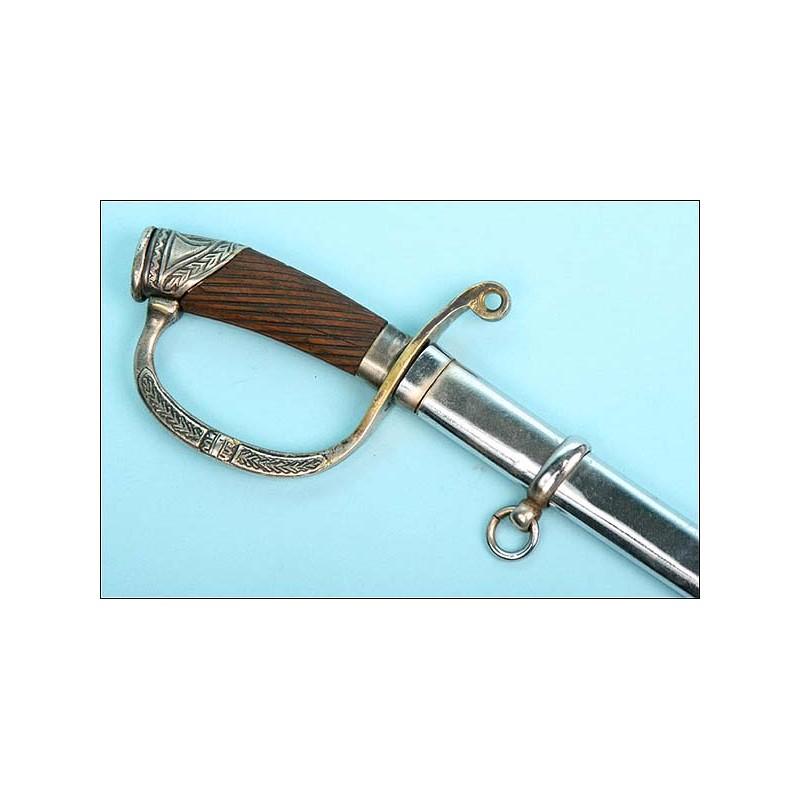 Espada para oficial de infantería. Rusia Imperial. 1900.