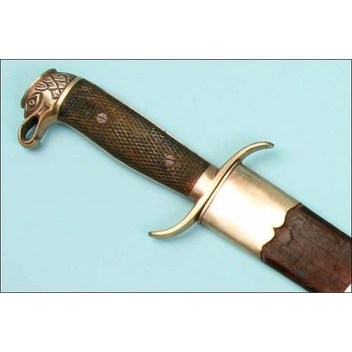 Impecable machete reglamentario español para Cuba