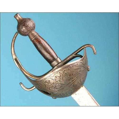 Espada modelo 1796 para oficial de caballería de línea.