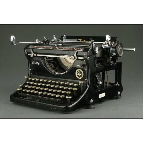 Máquina de Escribir Ideal con Teclado en Hebreo. Alemania, 1937. Funcionando a la Perfección