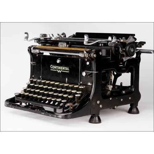 Máquina de Escribir Continental Standard en Perfecto Funcionamiento. Alemania, 1937