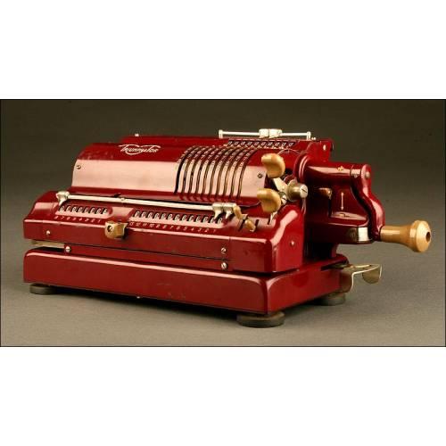 Rara Calculadora Triumphator CN1. Alemania, Años 30. Funcionando Perfectamente