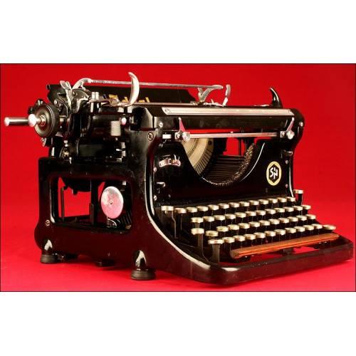 Preciosa Máquina de Escribir Ideal, Año 1933. Funcionando Como el Primer Día