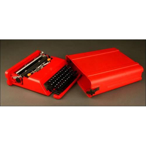 Máquina de Escribir Olivetti Valentine. Año 1.969. En Muy Buen Estado de Conservación y Funcionamiento