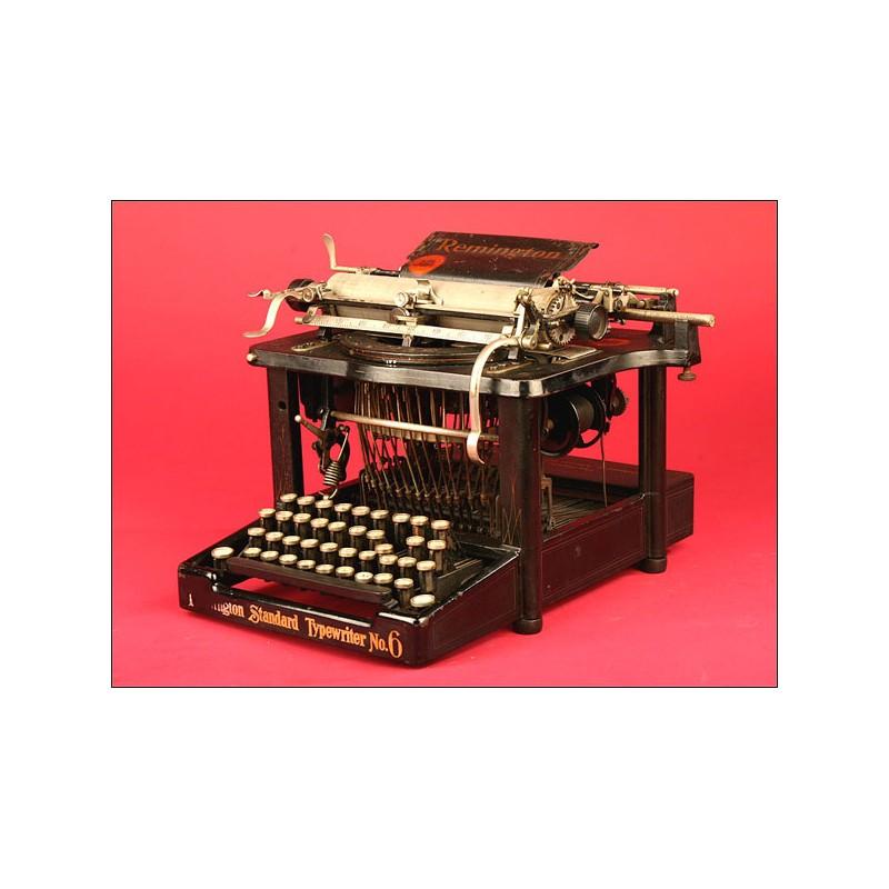 Preciosa Máquina de Escribir Remington Modelo 6. 1984.