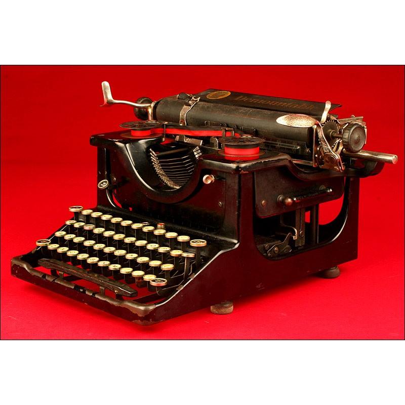 Rara Máquina de escribir Desmontable, 1924.