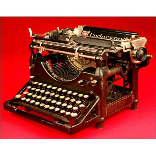 Original Máquina de escribir Underwood 5, ca. 1915.