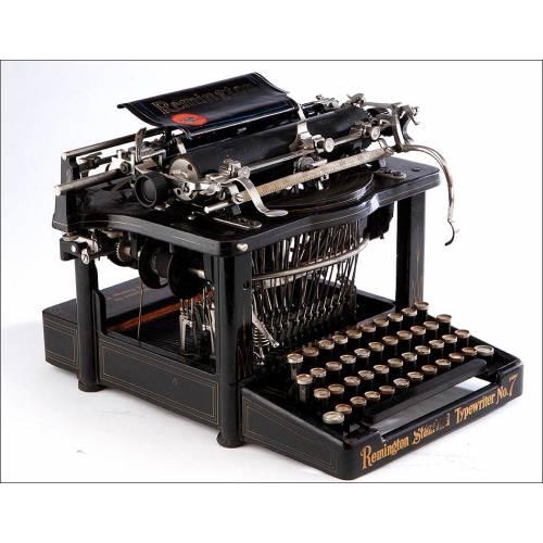 Fantástica Máquina de Escribir Remington Standard Nº7, EEUU, Circa 1905