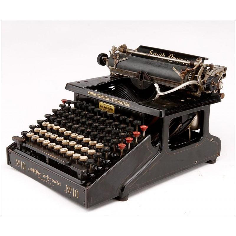 Máquina de Escribir Smith Premier Nº10. EEUU, Circa 1910.