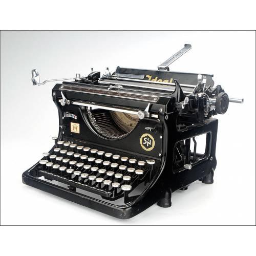 Atractiva Máquina de Escribir Ideal D Funcionando Muy Bien. Alemania, Años 30