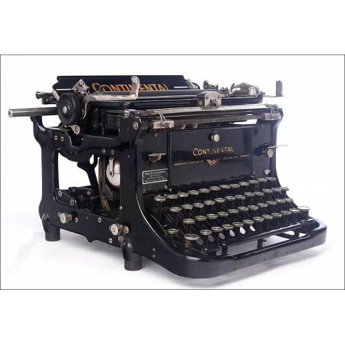 Fantástica Máquina de Escribir Continental Muy Bien Conservada. Alemania, Años 30