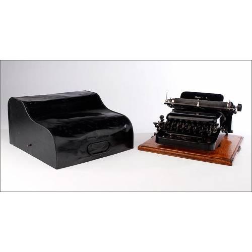 Magnífica Máquina de Escribir American Modelo 8, Bien Conservada. EEUU, Circa 1908