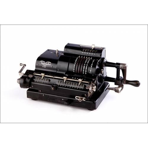Calculadora Triumphator H3Z en Muy Buen Estado y Funcionando. Alemania, 1930
