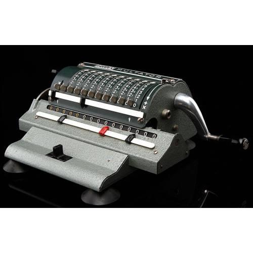 Rara Calculadora Alemana Produx-Multator. Año 1956, Pieza de Colección. Funcionando Perfectamente