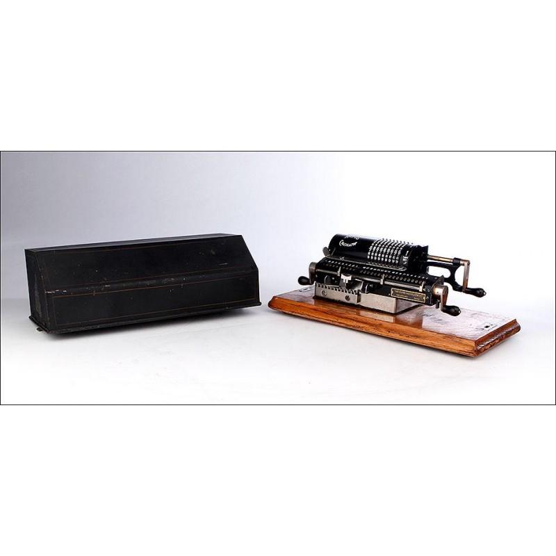 Calculadora de Molinete Rapid en Estado de Funcionamiento. EEUU, 1925-30