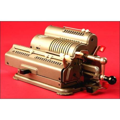 Calculadora Marca Thales Patent Modelo CER, 1938.