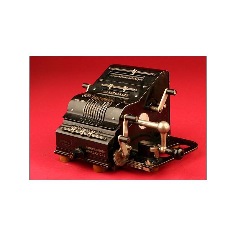 Magnífica Calculadora Brunsviga Modelo 13ZG. 1930