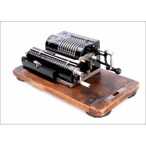 Original Calculadora Antigua Thales A Bien Conservada y Funcionando. Alemania, Circa 1920