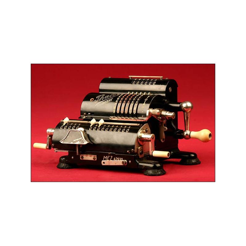 Calculadora Marca Thales Patent Modelo Mez, Años 30.
