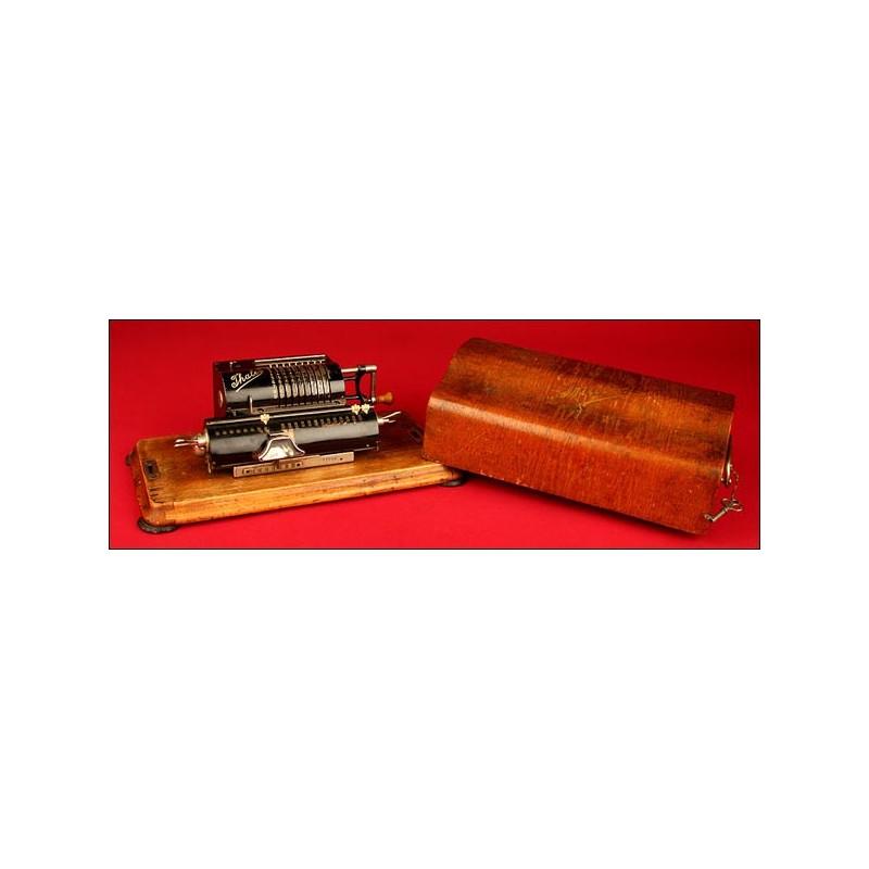 Calculadora Marca Thales Patent, ca. 1930. No Funciona (atascada).