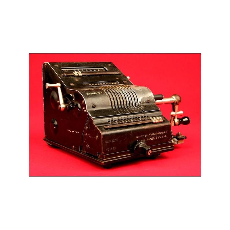 Fantástica Máquina de Calcular Brunsviga Nova 13 ZG, 1930 en Perfecto Estado Funcional.