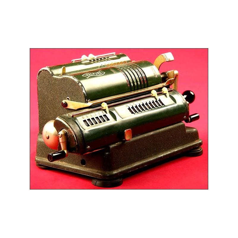 Original Calculadora Marca Walther Modelo RKZ 10, 1950.