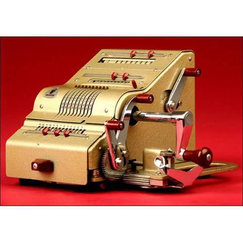 Fantástica Calculadora Brunsviga Modelo 13RK. Años 50.