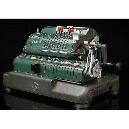 Calculadora Hamann Manus R, Bien Conservada y Funcionando. Alemania, 1955