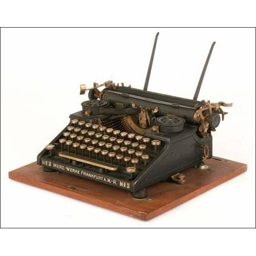 Máquina de escribir Merz-Werke nº 3. 1926