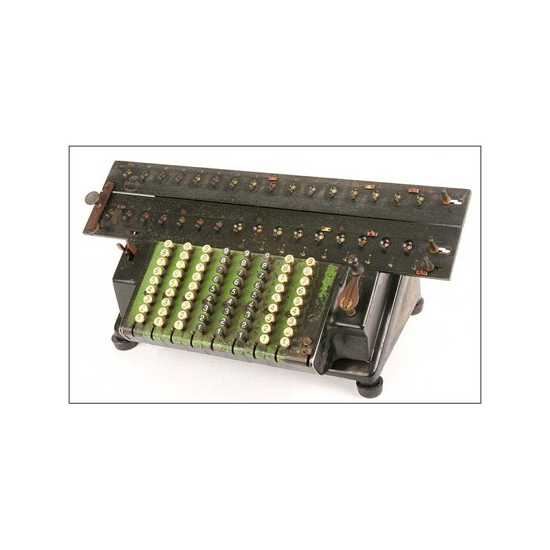 Máquina de calcular Tim Unitas. 1912