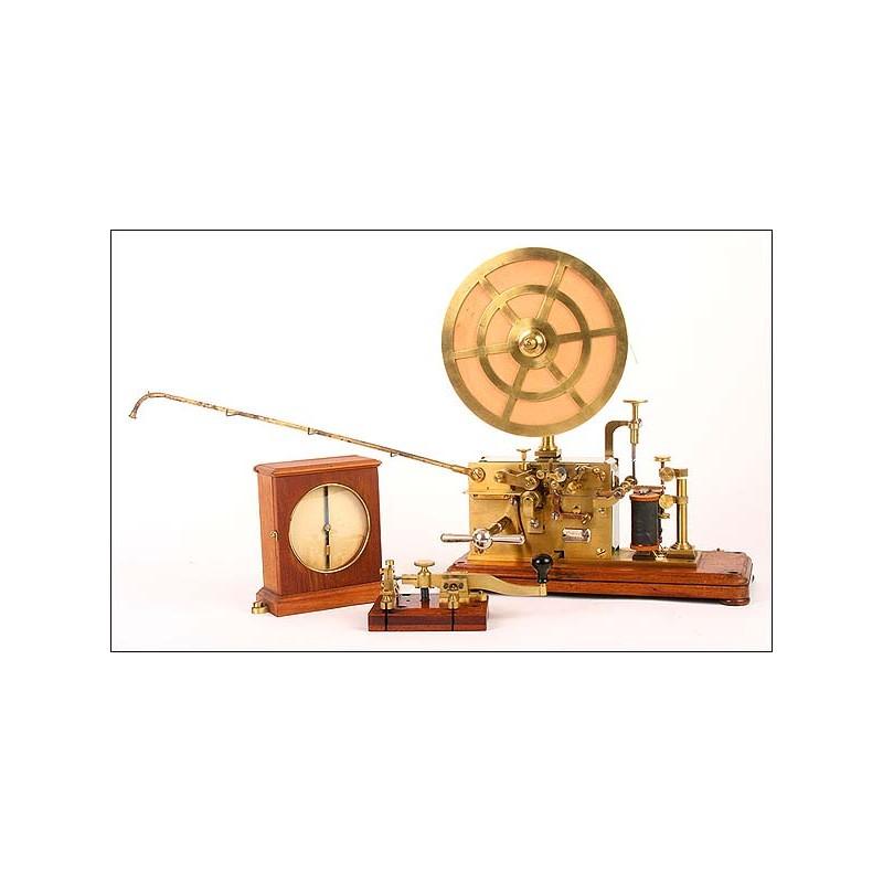 Telégrafo Öller & Co, Estocolmo,1885. Paredes de cristal