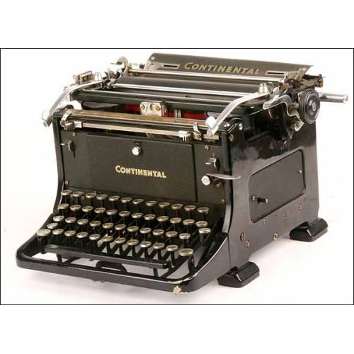 Máquina de escribir Continental. 1935