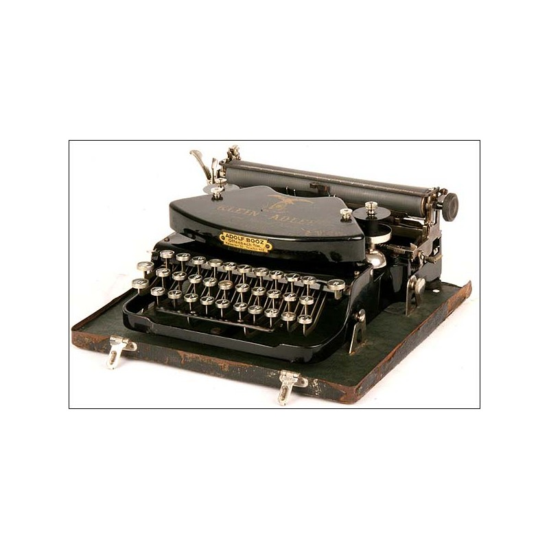 Máquina de escribir Klein-Adler. 1905