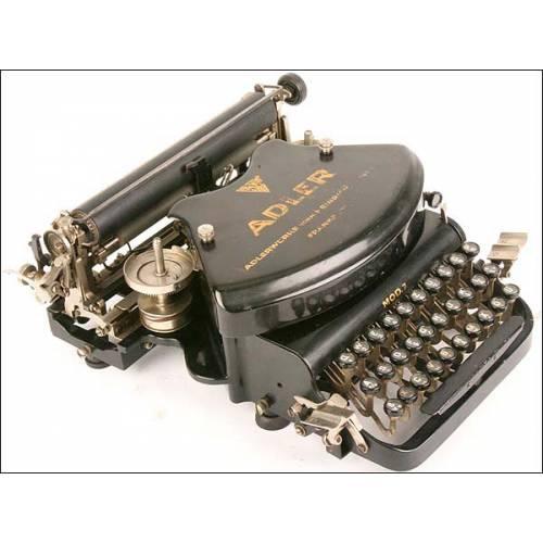 Máquina de escribir Adler. 1905