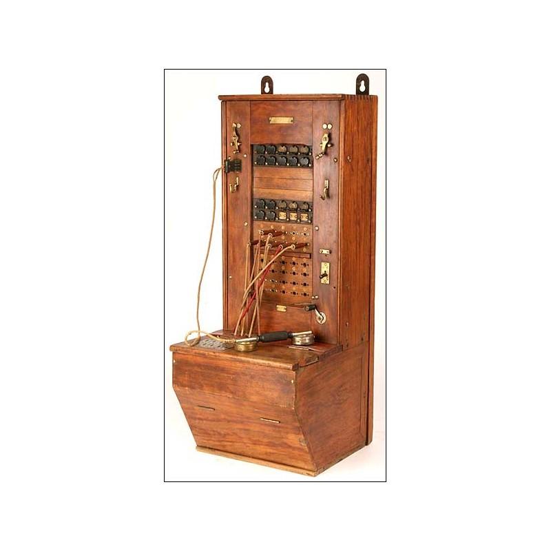 Centralita telefónica. Francia. 1910-1920
