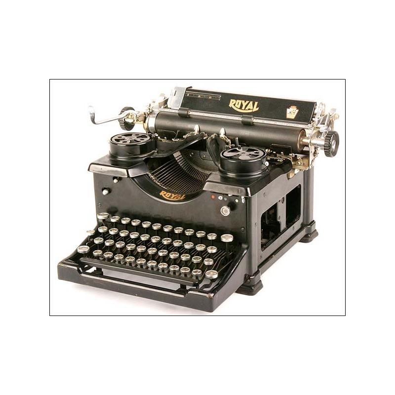 Máquina de escribir Royal 10. 1914
